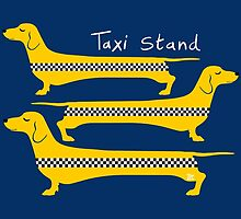 Taxi Stand Dogs by TsipiLevin