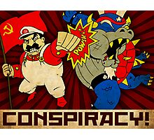 Stalin Is Mario! Photographic Print