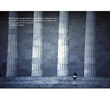 Lincoln Quote Poster - Limited Edition Photographic Print