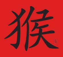 Chinese Zodiac Monkey Year of The Monkey Symbol One Piece - Long Sleeve