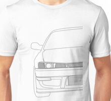 s14 outline 2 - black Unisex T-Shirt