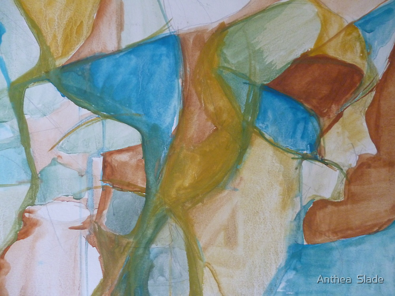 Raw Abstract by Anthea  Slade