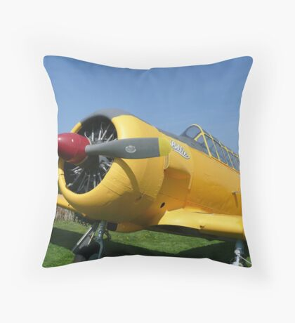 "Harvard Yellow ""Billie"" Throw Pillow"