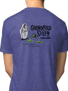 Graveyard Shift 50s Style Design Tri-blend T-Shirt