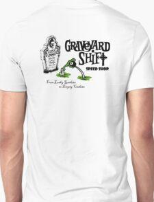 Graveyard Shift 50s Style Design T-Shirt