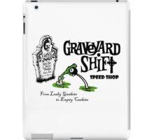 Graveyard Shift 50s Style Design iPad Case/Skin