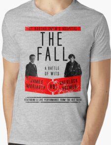 James Moriarty vs. Sherlock Holmes Mens V-Neck T-Shirt