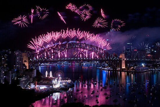 Simply The Best ! - Sydney NYE Fireworks  #8 by Philip Johnson