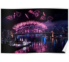 Simply The Best ! - Sydney NYE Fireworks  #8 Poster