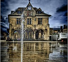 Peterbourgh Guild Hall by Nigel Butterfield