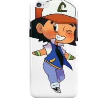 Reversed OS Ash Ketchum iPhone Case/Skin