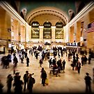 The Grand Central Terminal - New Yort by Ali Zaidi
