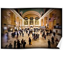 The Grand Central Terminal - New Yort Poster