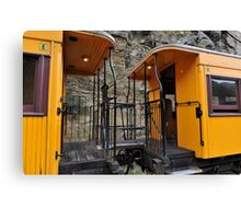 Railway Carriages Canvas Print