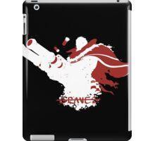 Graves Ink White iPad Case/Skin
