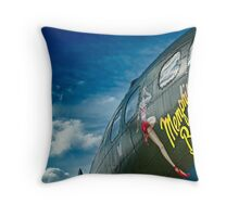 Memphis Belle Throw Pillow