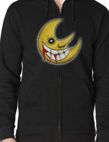 Soul Eater Moon  Zipped Hoodie