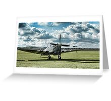 "Supermarine Spitfire ' A True Hero"" Greeting Card"