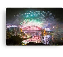 Simply The Best ! - Sydney NYE Fireworks  #11 Canvas Print
