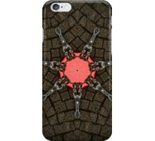 Heart Star 1 - Abstract Pattern of Original Mixed Media Artwork iPhone Case/Skin