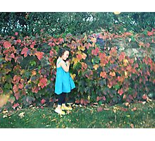 the eternal girl in my heart Photographic Print