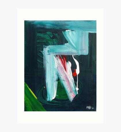 Homage To Franz Kline 2010 Art Print