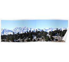 Snowy Sierras Poster