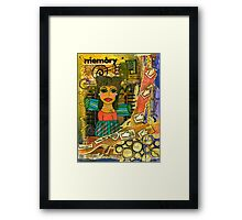 The Angel of Fond Memories Framed Print