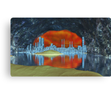 At the Earth's Core Canvas Print