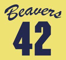 Beavers 42 (Teen Wolf) One Piece - Short Sleeve