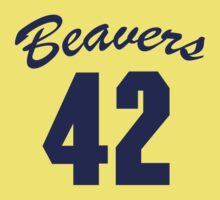 Beavers 42 (Teen Wolf) Kids Tee