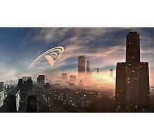 Evening Fog Photographic Print