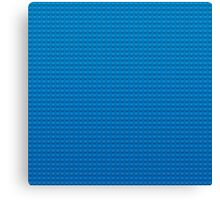 LEGO blue Canvas Print