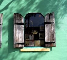 Key Lime Pie Window at Sunset - Key West, Florida by Rick Short