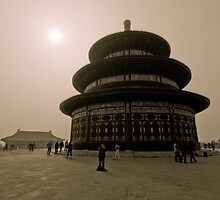 Temple of Heaven by Denis Charbonnier