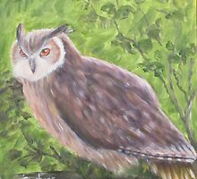 Owl...Impressionistically Speaking by nstep68214
