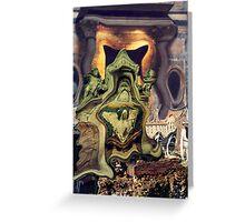 altar jukebox Greeting Card