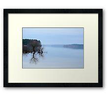 Lake Jordan Framed Print