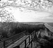 Lake Michigan from Arcadia Overlook by North22Gallery