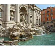 Trevi Fountain, Rome Photographic Print