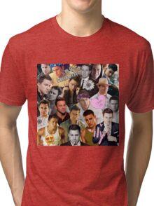 Channing Tatum Collage Tri-blend T-Shirt