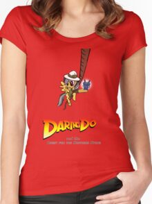 Daring Do and the Quest for the Sapphire Stone Women's Fitted Scoop T-Shirt