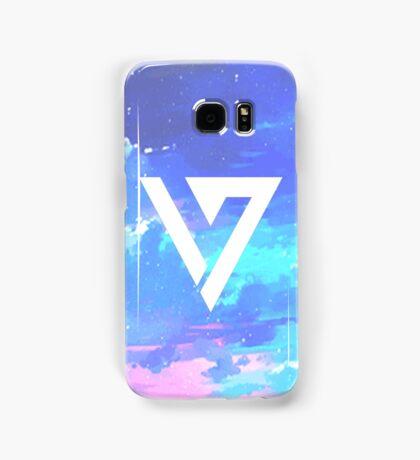 Pretty Pink/Purple/Blue Pastel Sky Seventeen Kpop iPhone and Samsung Case Samsung Galaxy Case/Skin