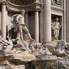 Trevi Fountain II by Tom Gomez