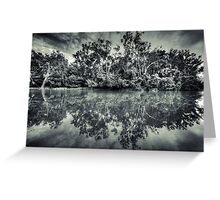Black and White Charlie Greeting Card
