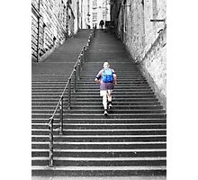 Climbing The Stairway To Heaven Photographic Print