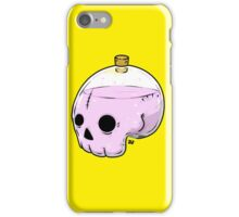 Bottle skull iPhone Case/Skin