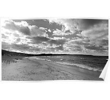 Glen Arbor Beach on Lake Michigan Poster