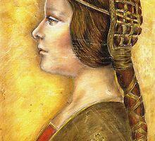 Homage to Da Vinci's Lost Princess by Alma Lee