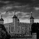 Tower of London B&W by Dean Messenger